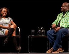 Binyavanga Wainaina e Chimamanda Ngozi Adichie