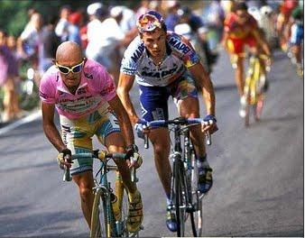 Il duello tra Pantani e Tonkov nel Giro d'ITalia del 1998