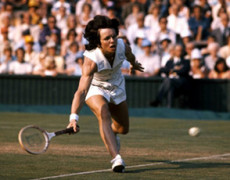 Billie Jean King goes to Russia
