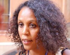 Ubah Cristina Ali Farah presenta Il comandante del fiume a Roma